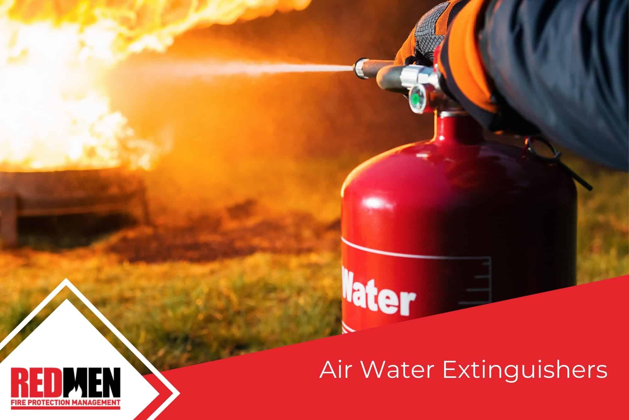 Air Water Extinguishers