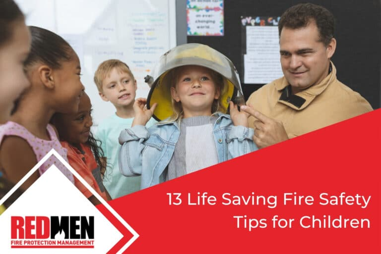 13 Life Saving Fire Safety Tips for Children
