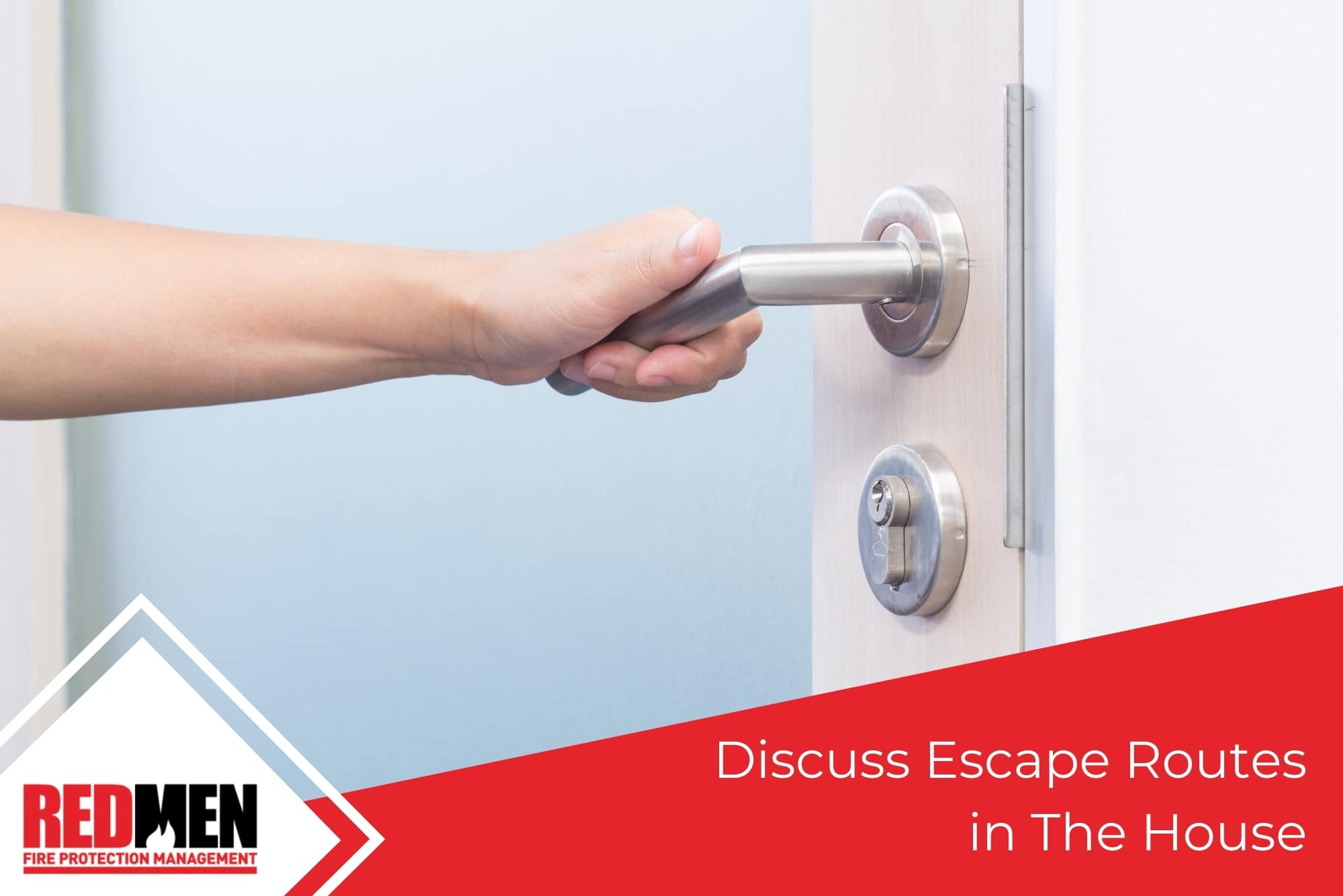 Discuss Escape Routes in The House