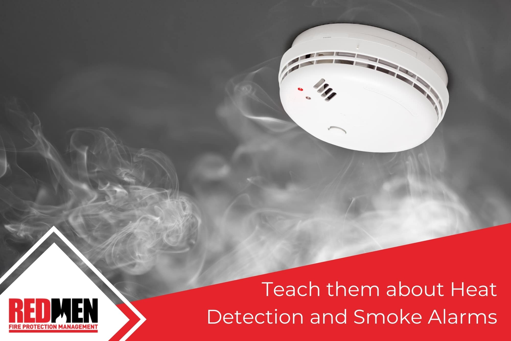 Teach them about Heat Detection and Smoke Alarms