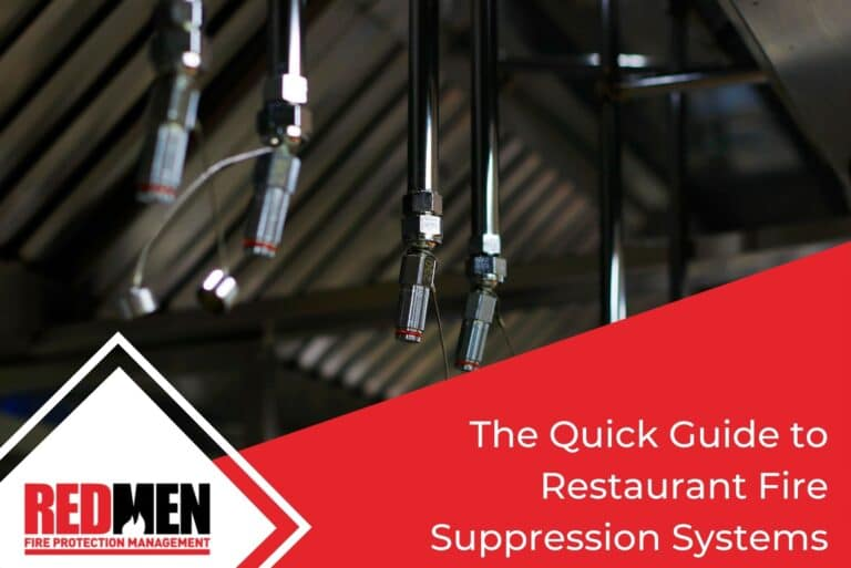 The Quick Guide to Restaurant Fire Suppression Systems